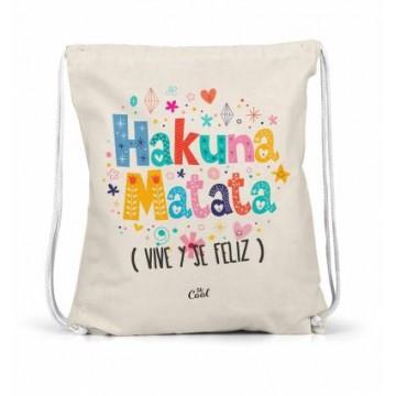 Saco mochila Hakuna Matata