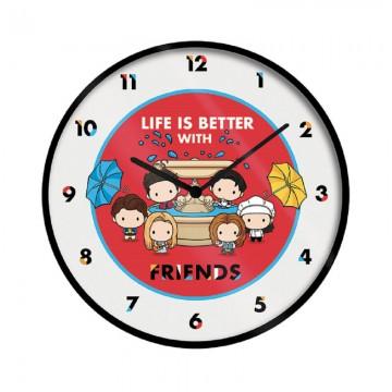 Reloj Pared Chibi Friends
