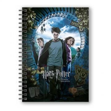 Libreta 3D Harry Potter