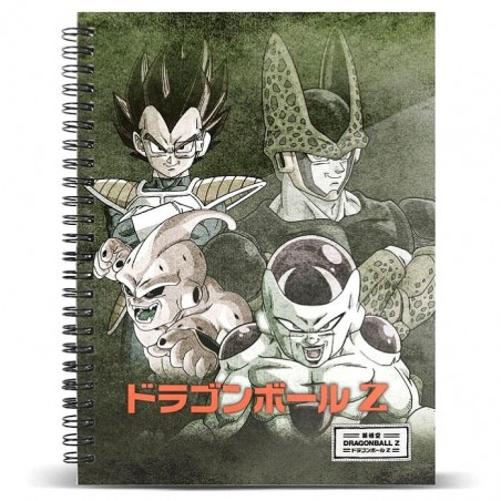 Cuaderno Dragon Ball A5
