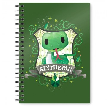 Cuaderno A5 Slytherin