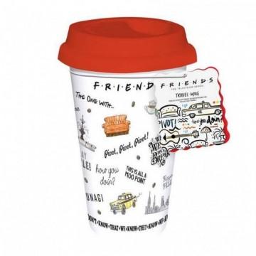Taza de viaje Friends