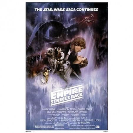 Poster Star Wars Classic El imperio contra ataca