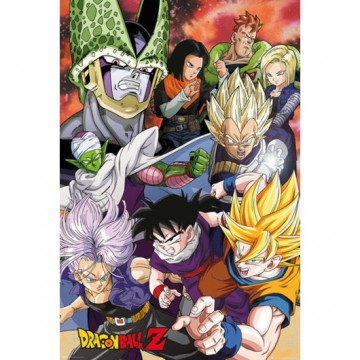 Poster Dragon Ball Z Cell saga