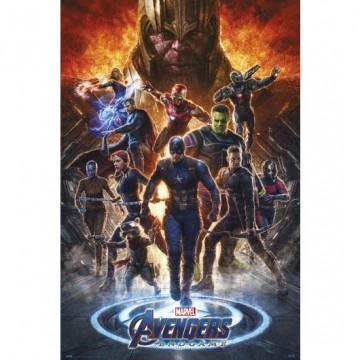 Poster Vengadores Endgame 2