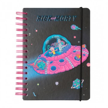 Cuaderno A5 Rick & Morty