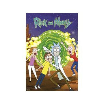 Poster de Rick y Morty portal
