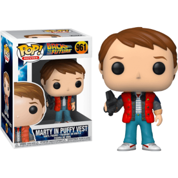 Funko Pop Marty McFly in...