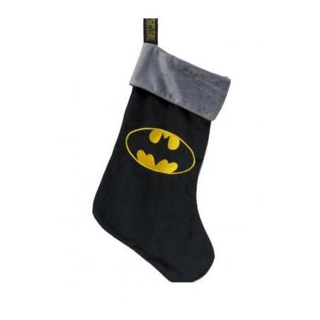 Calcetín navideño Batman