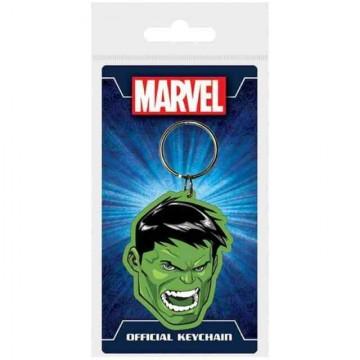 Llavero goma Hulk