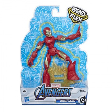 Figura Iron man bend & flex