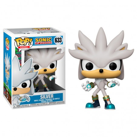Funko Pop Silver Sonic