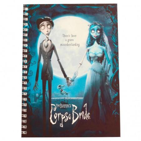 Cuaderno A5 La novia cadáver