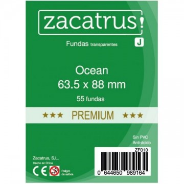 Fundas de cartas Ocean premium