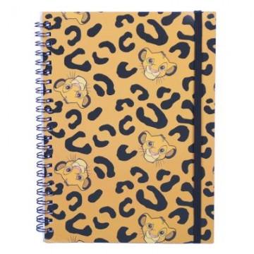 Cuaderno A5 Rey Leon