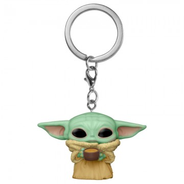 Pocket Pop Baby Yoda con taza
