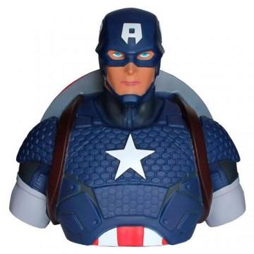 Hucha busto Capitán America