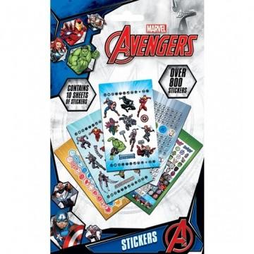 Set pegatinas vinilo Avengers