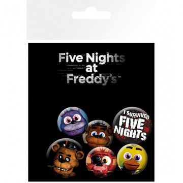 Chapas Five nights at Freddy's