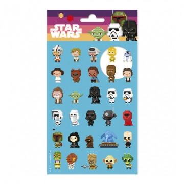 Set pegatinas Star Wars 8 bit