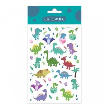 Set pegatinas dinosaurios
